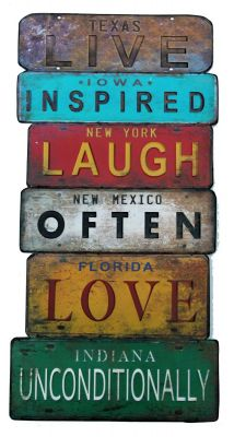 Live Inspired - Laugh Often - Love Unconditionally