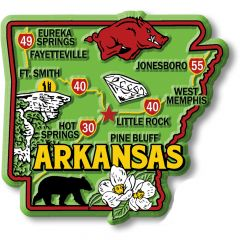 Colorful State - ARKANSAS - Magneet