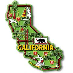 Colorful State - CALIFORNIA - Magneet