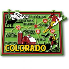 Colorful State - COLORADO - Magneet