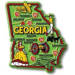 Colorful State - GEORGIA - Magneet