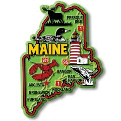 Colorful State - MAINE - Magneet