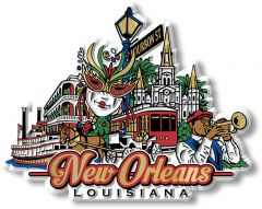 City - NEW ORLEANS - Magneet