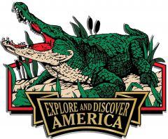 Discover & Explore America - ALLIGATOR - Magneet