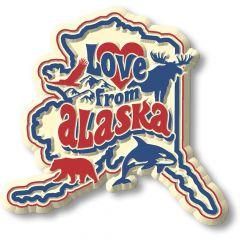 Vintage State - Alaska - Magneet