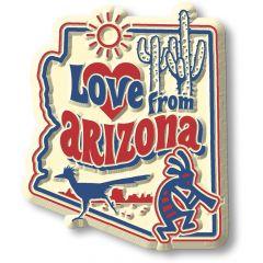 Vintage State - Arizona - Magneet