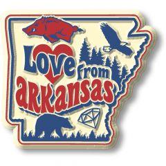 Vintage State - Arkansas - Magneet