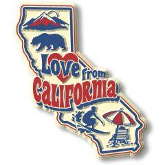 Vintage State - California - Magneet