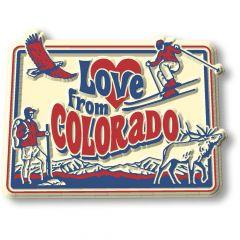 Vintage State - Colorado - Magneet