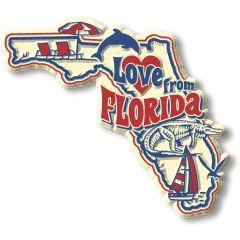 Vintage State - Florida - Magneet
