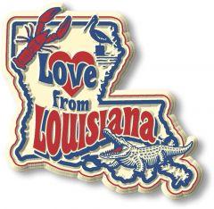 Vintage State - Louisiana - Magneet