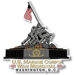 Washington DC  - Marine Corps War Memorial - Magneet