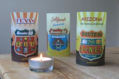 Candlecover set Route 66