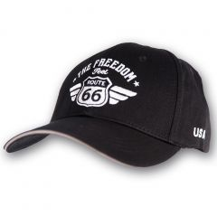 Cap Route 66 - Black-Black - Sandwich