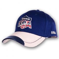 Cap Signs USA - Blue-Beige - Accent