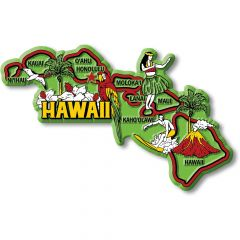 Colorful State - HAWAII - Magneet