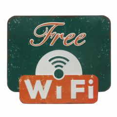 Free Wifi - Green-Orange