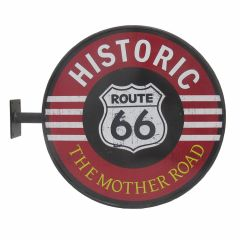 Route 66 - Wall sign