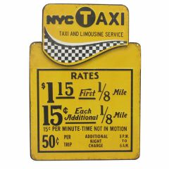 New York Taxi Rates