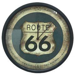 Klok Route 66 - diam. 35 cm