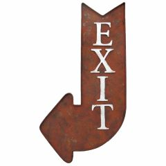 EXIT Arrow - Rust - Left