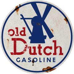 Old Dutch Gasoline - Round