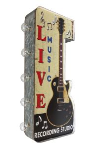 Light Up Sign!  -  Live Music marquee