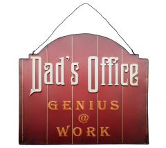 Dad's Office - genius @ work