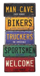 Man Cave Bikers Truckers Sportsmen Welcome