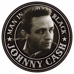 Johnny Cash - Man in Black Round