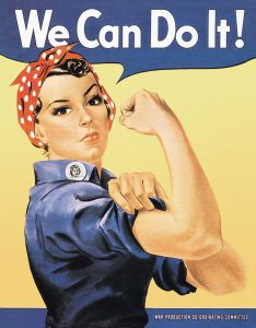 Rosie the Rivetor - We can do it