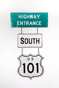 Highway Entrance - South - Highway 101