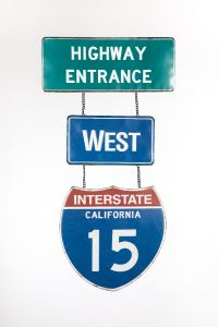 Highway Entrance - West - Interstate 15