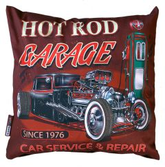 Kussen - Hot Rod Garage
