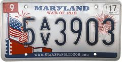 Maryland - War of 1812
