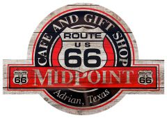 Route 66 - Midpoint - Adrian - Texas
