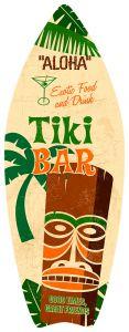 Surfboard - Aloha Tiki Bar
