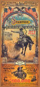 Rodeo promotie - Cody Wyoming - WOOD