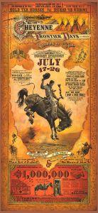 Rodeo promotie - Cheyenne - WOOD