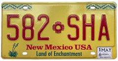 New-Mexico - Yellow