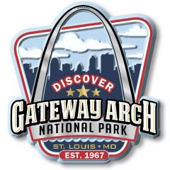 Gateway Arch National Park - Magneet