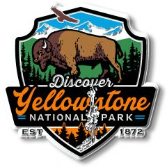 Yellowstone National Park - Magneet
