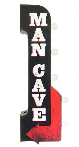 Man Cave Arrow