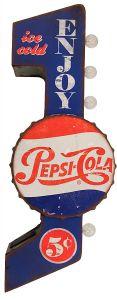 Enjoy Pepsi Cola