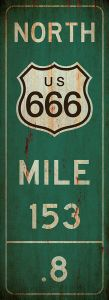 Mile-Marker - Route 666 - grunge