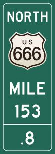 Mile-Marker - Route 666