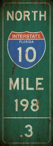 Mile-Marker - Florida - grunge