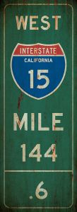 Mile-Marker - California - grunge