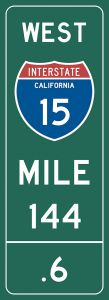 Mile-Marker - California