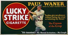 Lucky Strike - 1927 - Baseball - Paul Waner - XL
